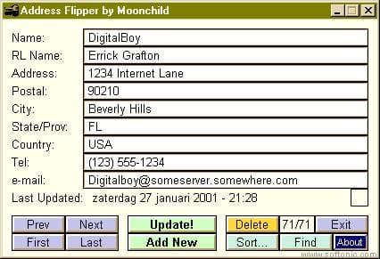 Address Flipper