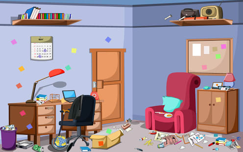 Escape Messy Office Room