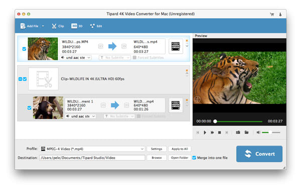 Tipard 4K Video Converter for Mac