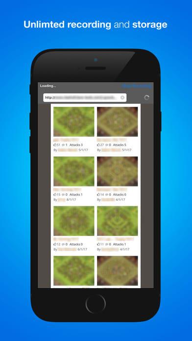 RecShare Browser recorder for games & websites Pro