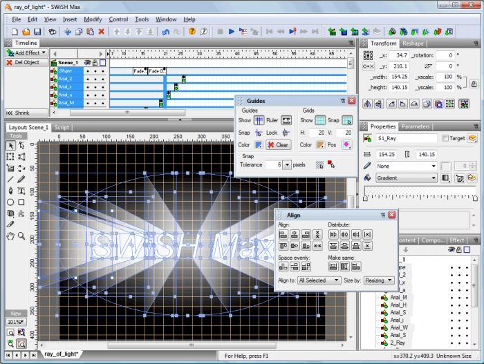 Swish max download for Software di progettazione di mobili download gratuito 3d
