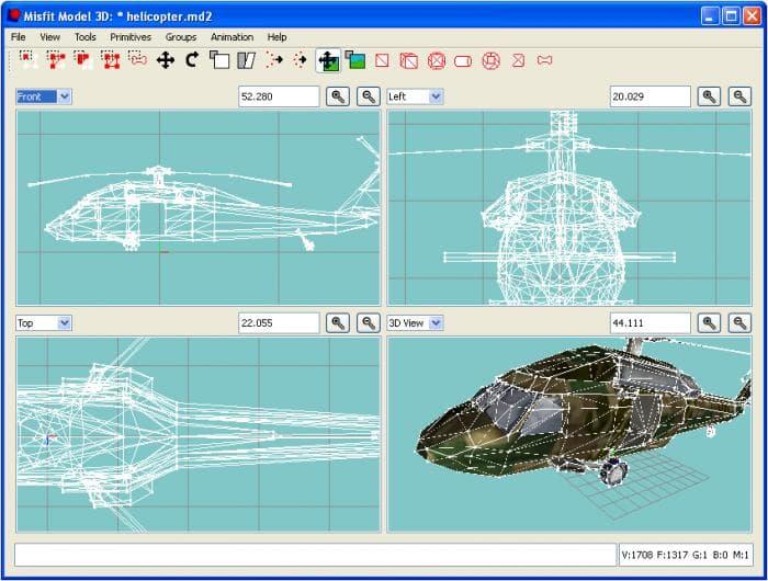 Misfit Model 3D