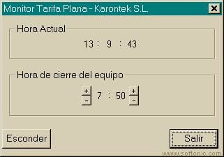 Monitor de Tarifa Plana