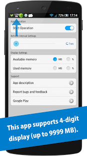 Memory Notification Pro