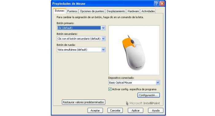 Microsoft IntelliPoint