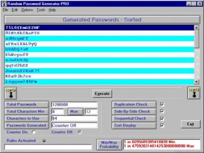 Random Password Generator - PRO