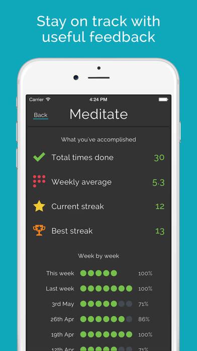 Productive habits & daily goals tracker