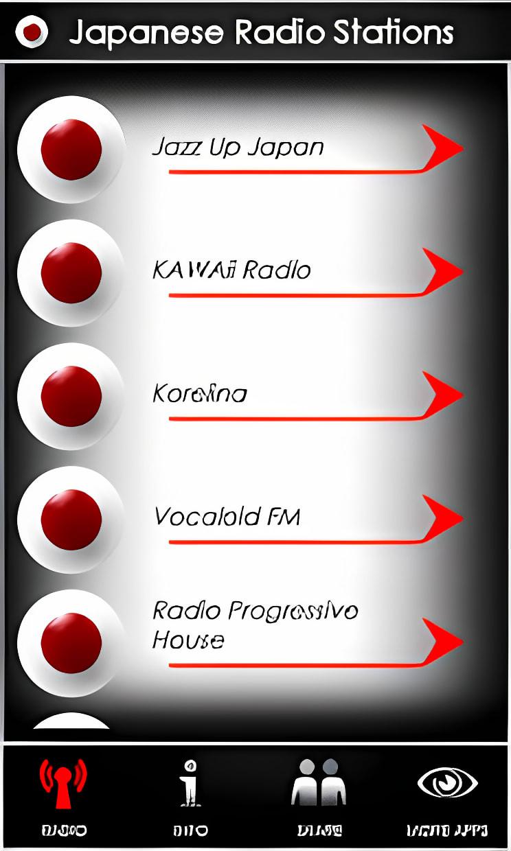 Japanese Radio Stations
