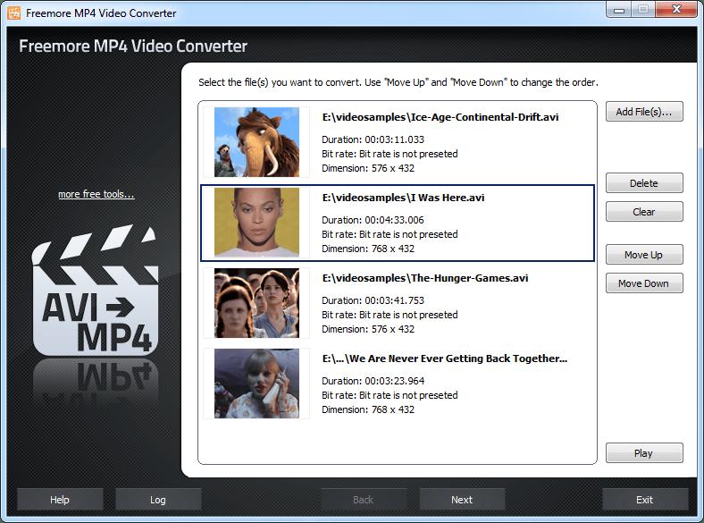 Freemore MP4 Video Converter
