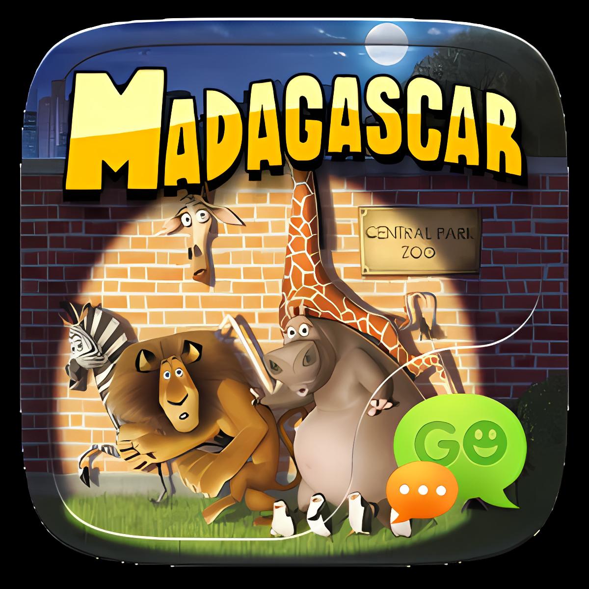 (FREE) GO SMS MADAGASCAR THEME 1.1