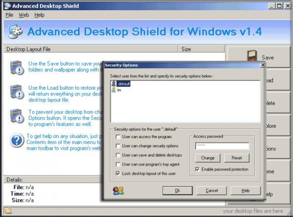 Advanced Desktop Shield