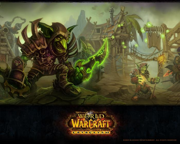World of Warcraft Goblins Wallpaper
