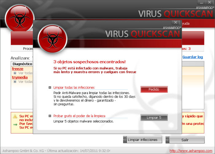 Ashampoo Virus Quickscan Free