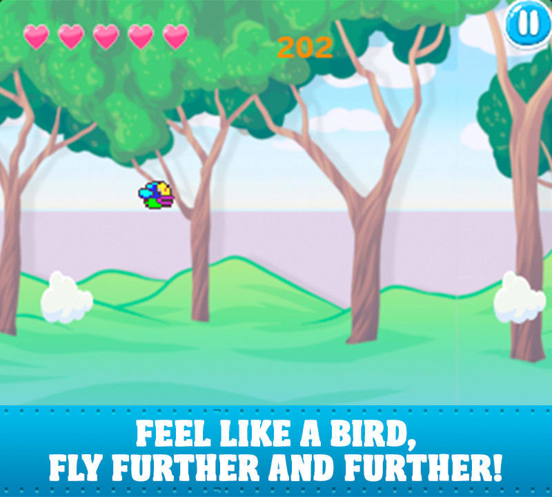 Angry Flap - Birds Crash Saga