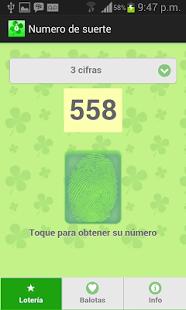 Numero de suerte