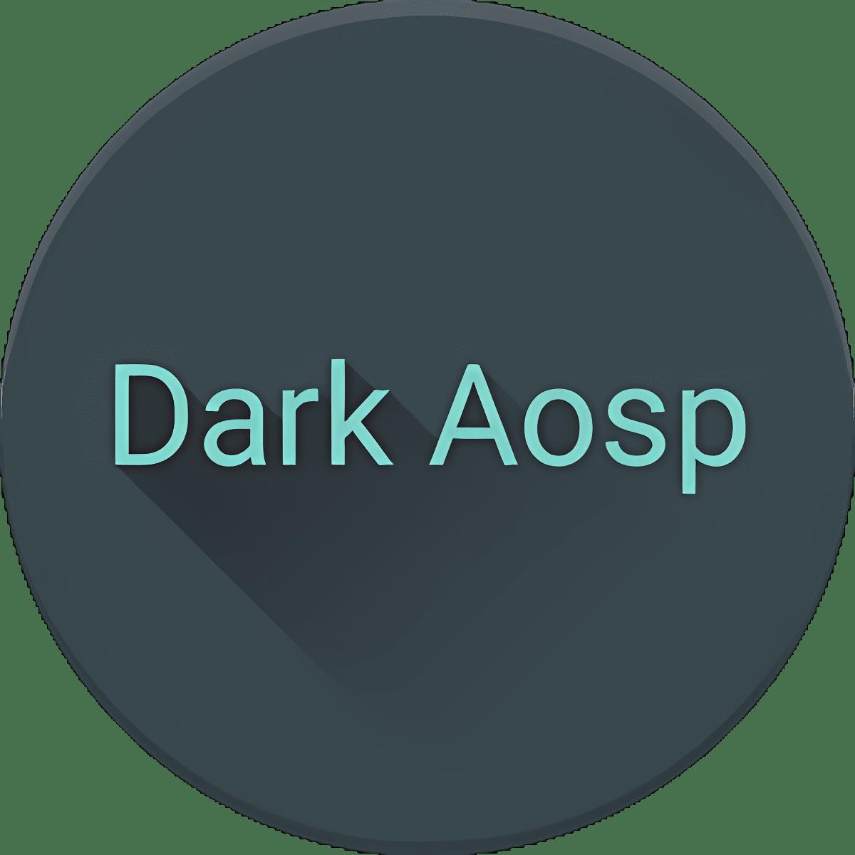 Dark Aosp Theme for LG V20 G5 1.0.1