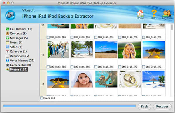 Vibosoft iPhone iPad iPod Backup Extractor for Mac