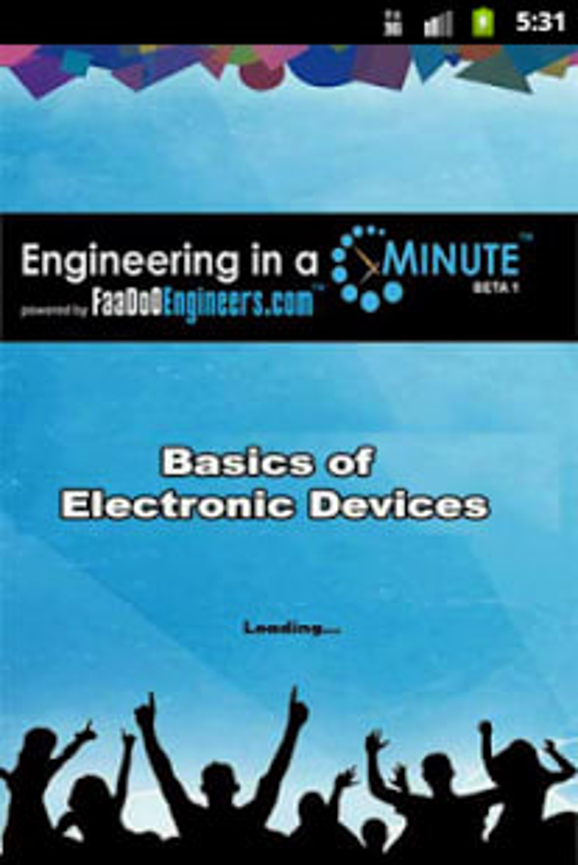 Basics of Electronic Devices 1