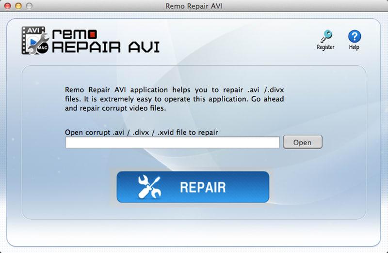 Remo Repair AVI for Mac