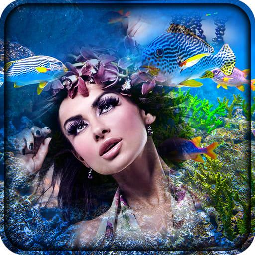 Aquarium Selfie Photo Frames