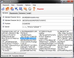 Passwords Generator