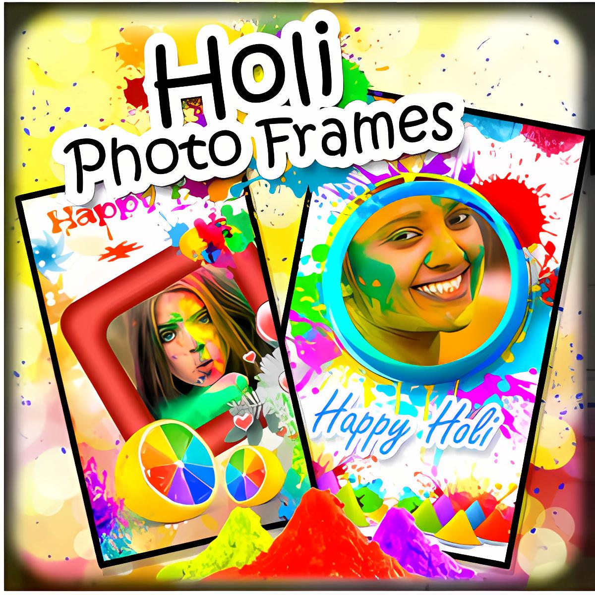 Holi Photo Frames New