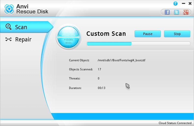 Anvi Rescue Disk