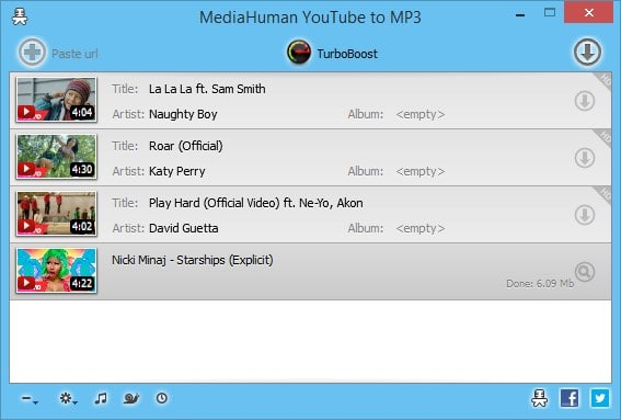 MediaHuman YouTube To MP3 Converter Varies with device