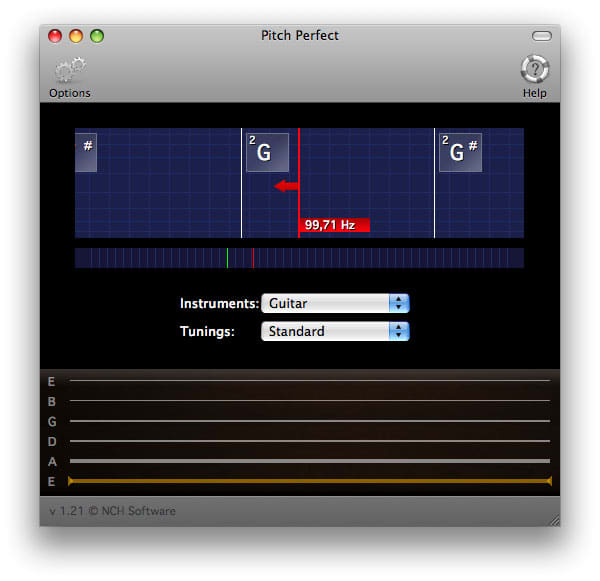 PitchPerfect Guitar Tuner