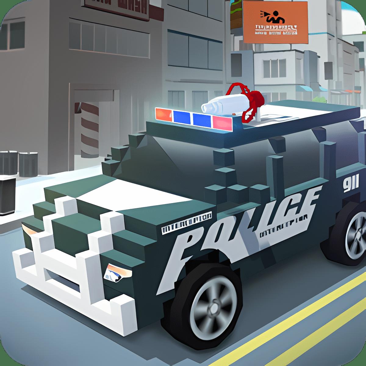 Blocky City: Emergency Hero