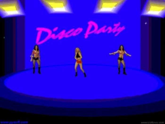 Disco Party screen saver