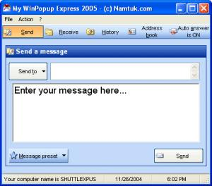 My WinPopup Express