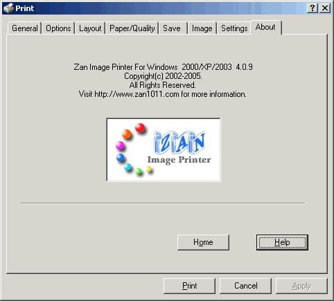 Zan Image Printer