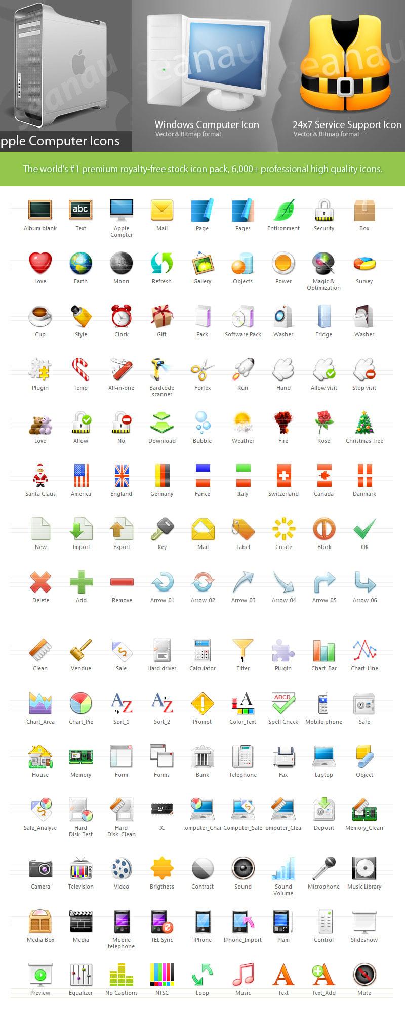 Seanau Icon Set 2011