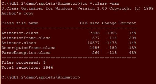 J.Class Optimizer