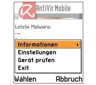 AntiVir mobile