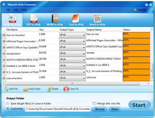 Vibosoft ePub Converter Software