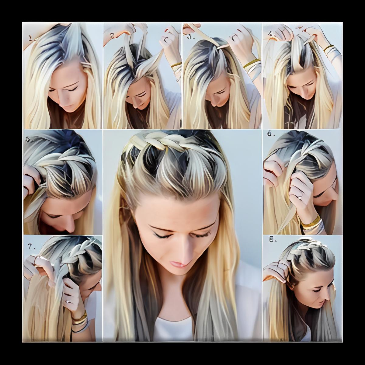 Hair Stye Making Tutorial