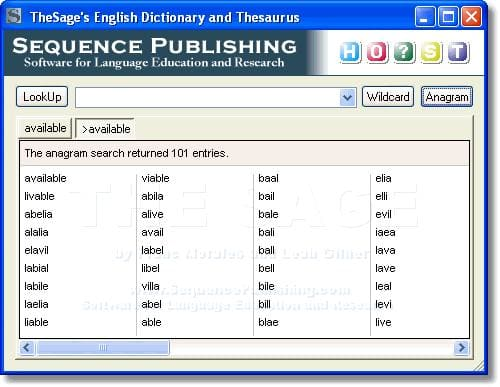 TheSage English Dictionary