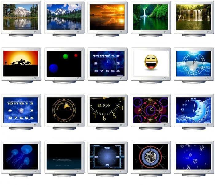 Free Screensavers package