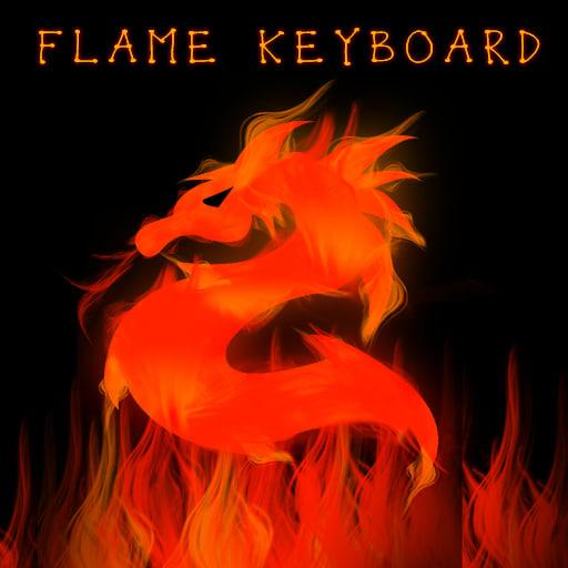 Flame Keyboard
