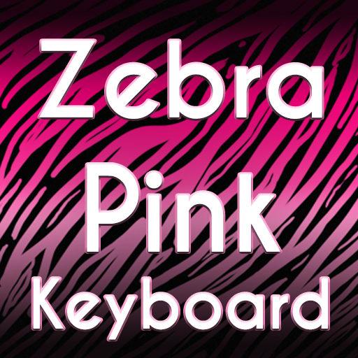 Zebra Pink Keyboard