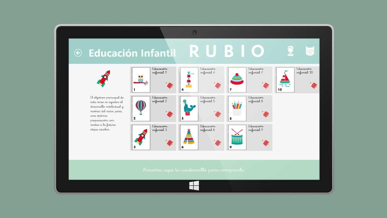 Cuadernos Rubio para Windows 10