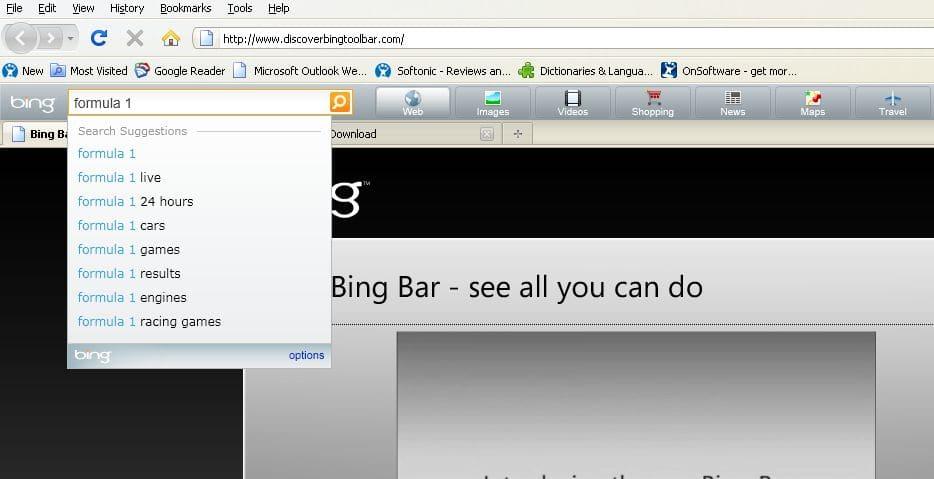 Bing Toolbar Download