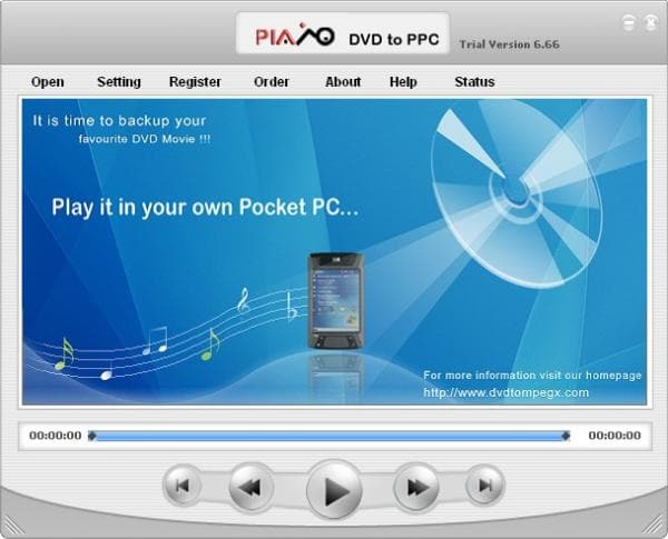 Plato DVD to Pocket PC Converter