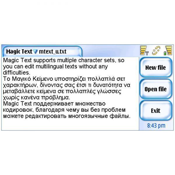 Magic Text