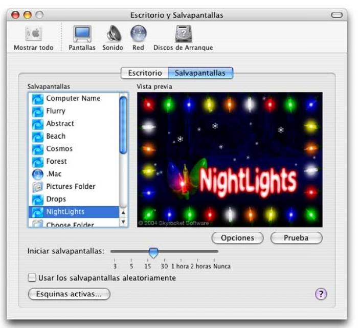 NightLights Screensaver