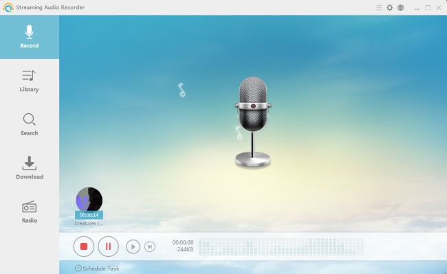 Streaming Audio Recorder