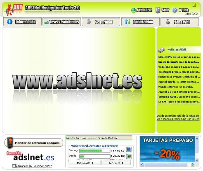 ADSLNet Navigation Tools
