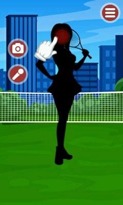 Tennis Girl - International Championship